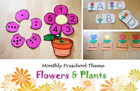 fabulous flower supplyme 433 | Flower Themed Literacy and Math Activity