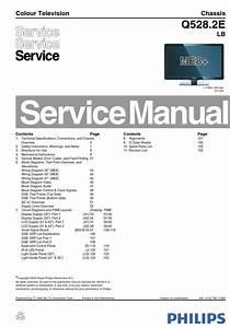 Philips 32pfl7423d 32pfl7423h Q528 2elb Tv Service Manual