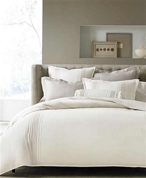 macy s duvet covers hotel collection woven accent king duvet cover created
