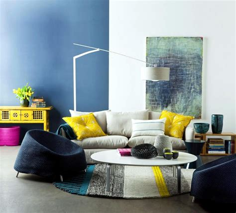 Home Layout With Creative Accent Colours by Minimalist Living Room Ideas To Make The Most Of Your Home