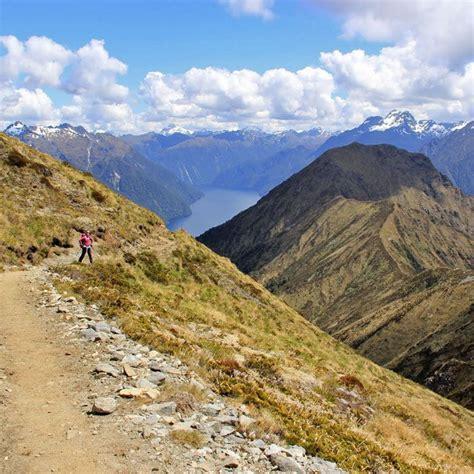 Best Mountain Scenery Hike Kepler Track Fiordland