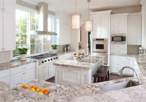 kitchen granite ideas stunning white textured granite countertop for