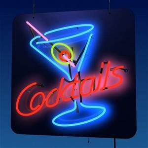 COCKTAILS images neon sing wallpaper and background photos