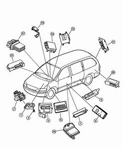 2010 Dodge Grand Caravan Parts Diagram