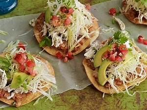 Chicken Tostadas Recipe Food Network Kitchen Food Network