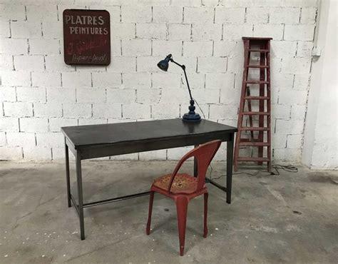 bureau d atelier bureau d 39 atelier métal piètement compas esprit jean prouvé