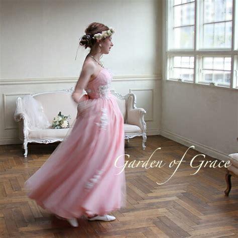 garden of grace 楽天市場 即納 ウエディングドレス 二次会 花嫁ドレス カラードレス ウエディング aライン ウエディングドレス