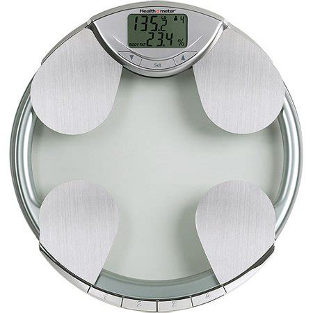 health  meter body fat  weight tracking bath scale