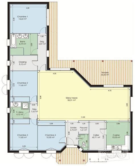 les 25 meilleures id 233 es de la cat 233 gorie plan maison sur plans maison plans de