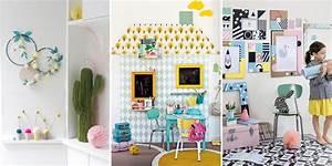 Decoration Chambre D Enfant : diy d coration chambre d 39 enfant marie claire ~ Teatrodelosmanantiales.com Idées de Décoration
