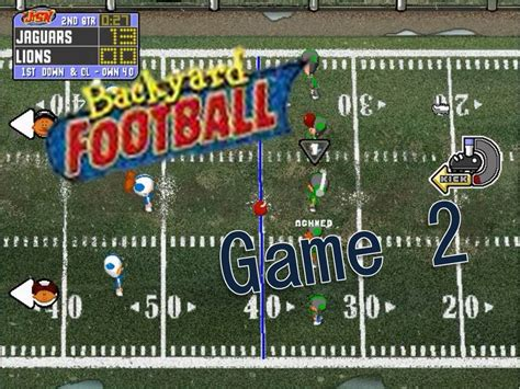 backyard football pc backyard football 1999 pc 2 who s the king of the
