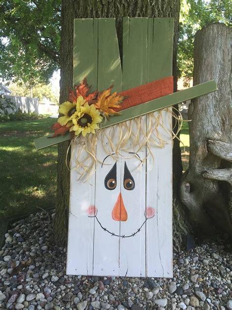 scarecrow man   pallet wood fall pinterest
