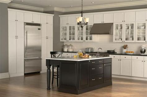 Mid Continent Cabinets Concord by Mid Continent Cabinetry With Maple Island And Carbon