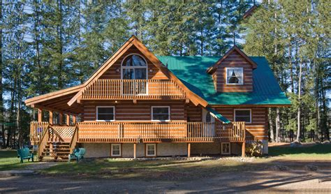 Log Cottage Ranch Style Log Cabin Homes Affordable Log Cabin Homes