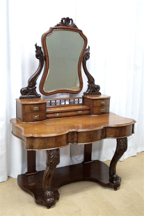 antique table ls for sale victorian walnut figured dressing table for sale