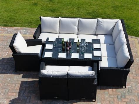 sofa dining set garden panama rattan garden dining set oceans outdoor furniture