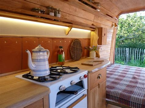 rustic campers awesome conversions compact travel