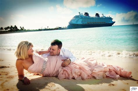 Wedding Photography On The Disney Dream Cruise Ship And