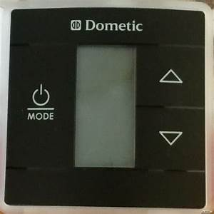 Dometic 3316410 012 Black Capacitive Touch Rv Thermostat