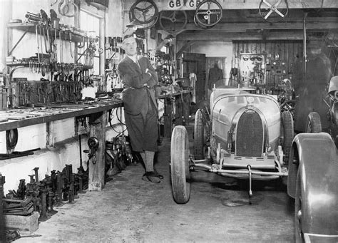 Bugatti Dealership Michigan by On The Shop Floor Vintage Factory And Workshop