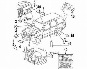 2007 Jeep Grand Cherokee Parts