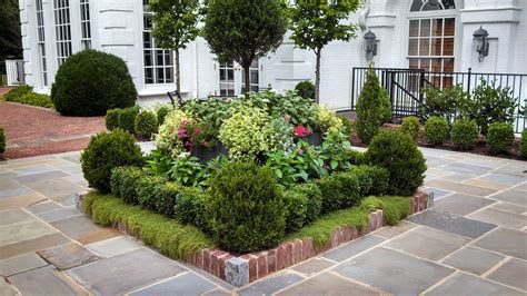 square flower bed ideas landscape designs pineville
