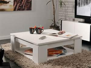 Table Carree Blanc Laqué : table basse carr e kala couleur laqu blanc 52478 52479 ~ Teatrodelosmanantiales.com Idées de Décoration