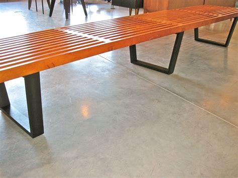 george nelson ls concept metro modern george nelson platform bench model 4693