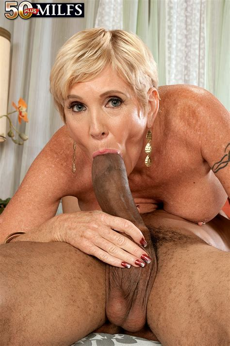 Busty Horny Milf Honey Ray Having A Huge Black Cock For