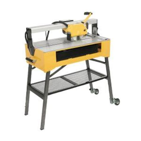 Home Depot Qep Tile Saw by Qep 1 Hp Bridge Tile Saw 83200q The Home Depot