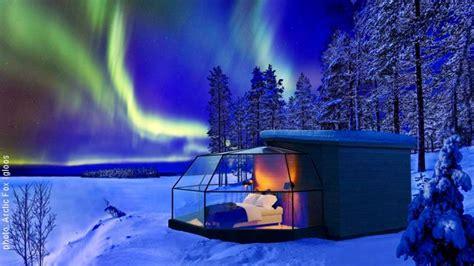Northern Lights Igloo by Glass Igloo Finland Northern Lights Finland
