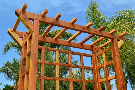 annapolis garden arbor arched arbors forever redwood