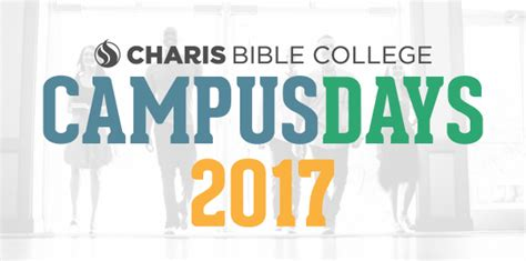 campus days charis bible college
