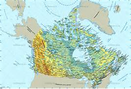 Canada Physical Map Rivers Canada Physical Map  Canada Physical Map