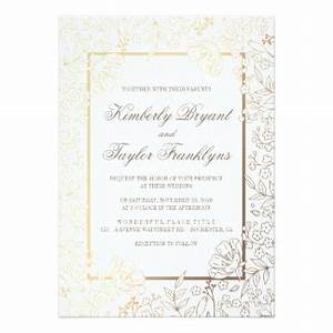 gold and white wedding invitations announcements With white and gold wedding invitations uk