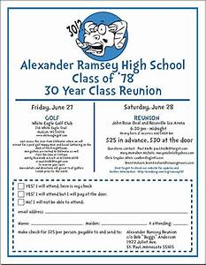 90 best class reunion images on pinterest class reunion With class reunion program template
