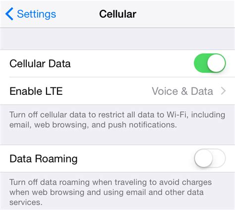 iphone cellular data how to manage cellular data usage on your iphone and