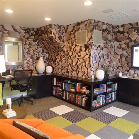 wallpaper design for home interiors 25 inspirations showcasing home office trends