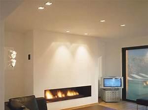 Beleuchtung Im Wohnzimmer : steinwand beleuchten raum und m beldesign inspiration ~ Bigdaddyawards.com Haus und Dekorationen