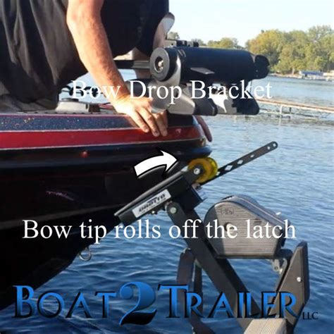 Automatic Boat Latch by Drotto Bow Drop Bracket Drotto Automatic Boat Latch
