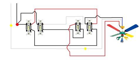 3 Way Fan Light Wiring Diagram by Ceiling Fan 3 Way Switch Wiring Diagram