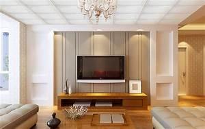 Minimalist, Interior, Design, Tv, Wall, Download, Model