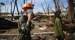philippines officials accused  prioritising typhoon