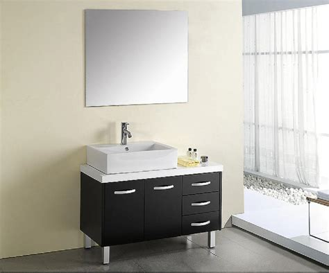 Modern Bathroom Sink And Mirror by 3 Simple Bathroom Mirror Ideas Midcityeast