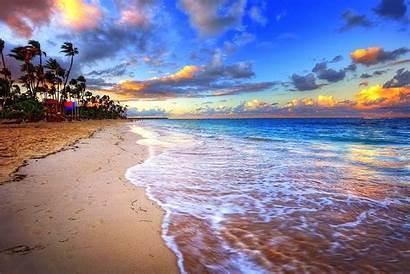 Dominican Republic Desktop Punta Cana Wallpapers Beach