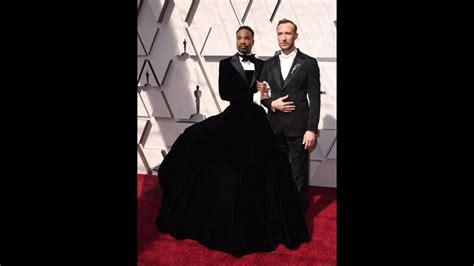 Billy Porter Wears Tuxedo Dress The Oscars Youtube