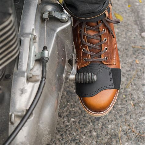 motorcycle shifter shoe boot protector town moto