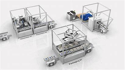 Interactive Omron Automation Manufacturing Link Manual Handling