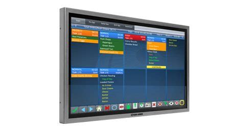 restaurant touch screen monitors qsr automations