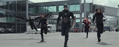 War Civil Marvel Captain America Gifs Cap